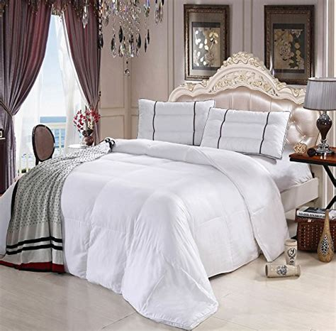 hotel collection king down comforter 100 bamboo down alternative comforter ultra soft by royal