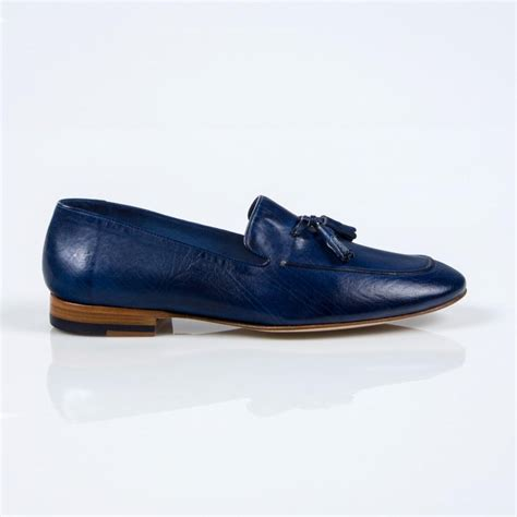 paul smith loafers paul smith navy dip dyed leather stevenson tassel