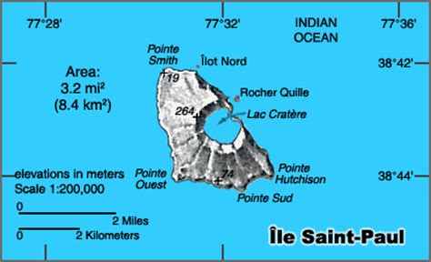 map  st paul island  information page