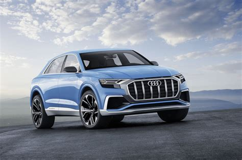 2018 audi q8 concept review x6 and gle coupe are getting