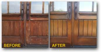 Exterior Hardwood Doors Exterior Wood Door Refinishing