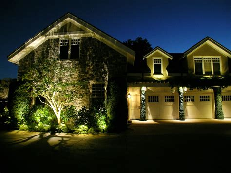 Led Landscape Lighting Alamo Led Landscape Lighting Conversion By Artistic Illumination