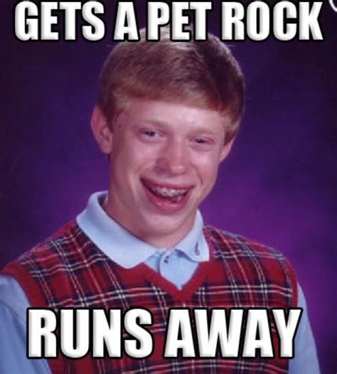 Bad News Brian Meme - 123 best images about poor bad luck brian on pinterest