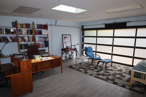 garage offices garage conversion contemporary home office los