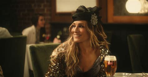 carrie bradshaw turns   cosmopolitan  beer