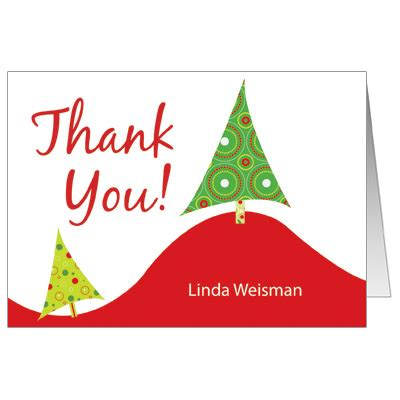 Thank You Card Template With Tree by Thank You Cards Clipart Panda Free Clipart Images