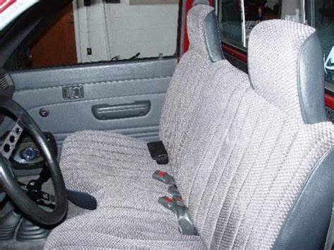 tacoma front bench seat 1995 2004 toyota tacoma front bench regal fabric se