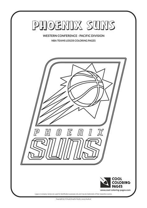 phoenix suns free coloring pages