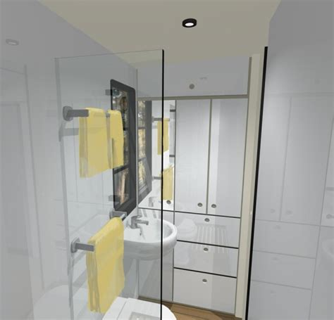 Rv Bathroom Plans Custom Truck Rv Modern Motorhome Living Or A Tiny House