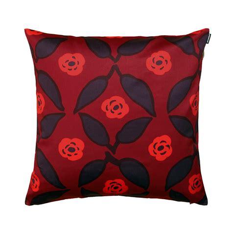 Marimekko Pillows Sale by Marimekko Poppy Plum Throw Pillow Marimekko Sale
