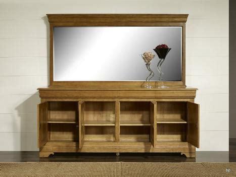 commode en chene 1671 miroir glace biseaut 233 e 120x60 en ch 234 ne massif meuble en
