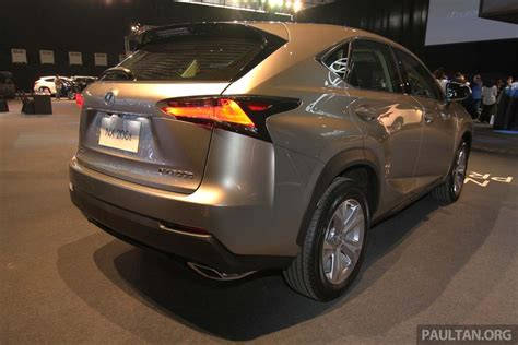 lexus nx malaysia lexus nx launched in malaysia from rm299k rm385k image 307921