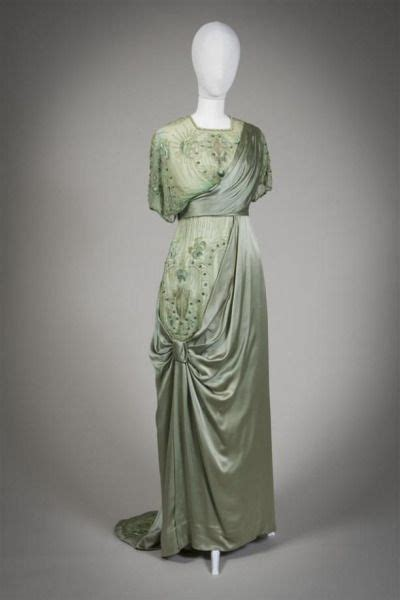 hochzeitskleid jugendstil evening dress ca 1912 13 fashion 1910 1920
