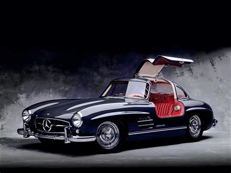 mercedes gull wing 301 moved permanently