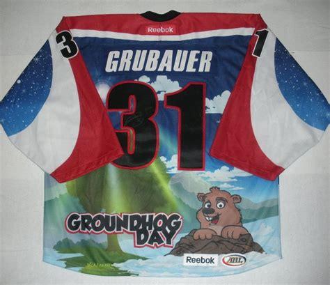 groundhog day auction philipp grubauer hershey bears groundhog day