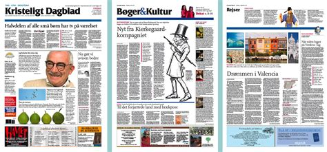 design news kristeligt dagblad newspaper design