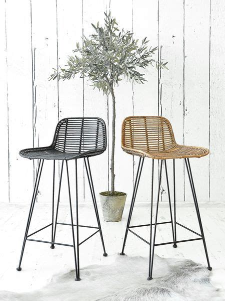 Bloomingville Rattan Counter Stool by Best 25 Rattan Bar Stools Ideas On Rattan