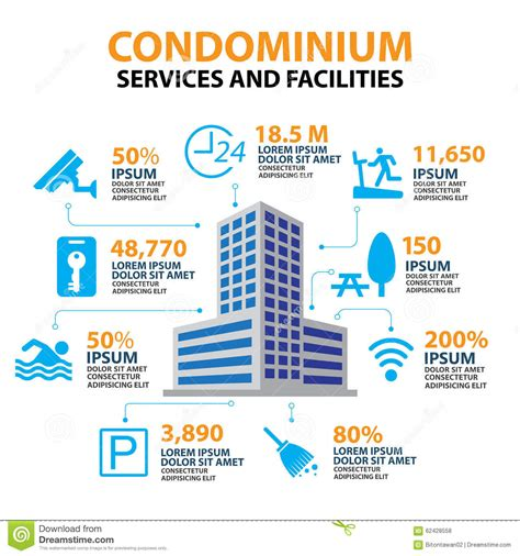home facilities management hotel condominium and home services and facilities icon