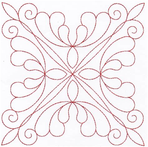 Digitized Quilt Patterns digitized wedding ring quilting designs set 4