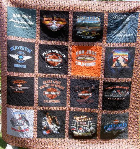 T Shirt Quilt Blocks by Fabric Creations By Kathy Home