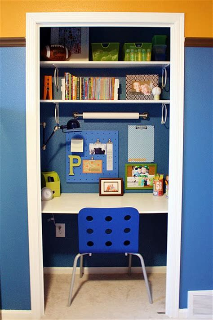 Closet Desk Ideas by Study Desks Small Bedrooms