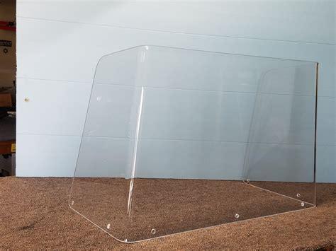 Windshield Acrylic Acrylic Boat Windshield And Windscreens Lookout Boat Window Frames