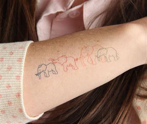 family elephant tattoo best 25 elephant family ideas on