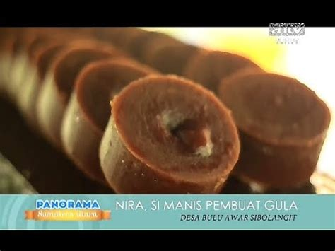 cara membuat gula merah nira aren asli youtube