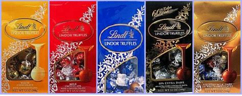 lindor chocolate flavors colors gafunkyfarmhouse weekend wonders lindt lindor truffles