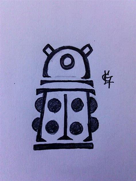 dalek tattoo designs best 25 doctor who tattoos ideas on doctor