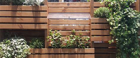 Brise Vue Avec Jardiniere by Brise Vue Avec Jardini 232 Re Baroma Panneau Jardini 232 Re Bois