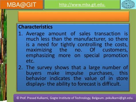 Retail Mba How Much by Retail Management Vtu