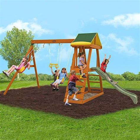 cheapest swing sets cheap wood swing set daniel s ebay board pinterest