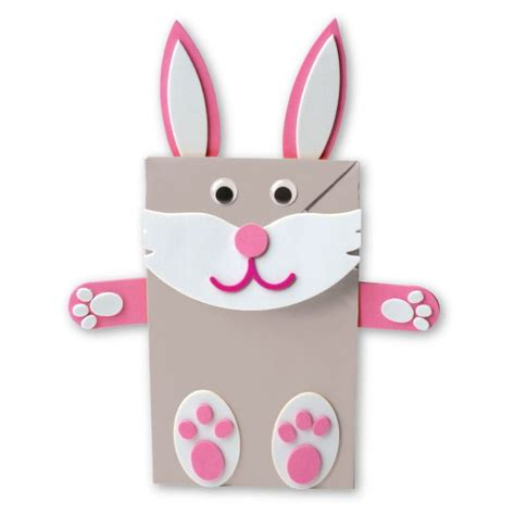 easter bunny paper bag puppet template gruffalo s child pom pom by numbers card pack activities