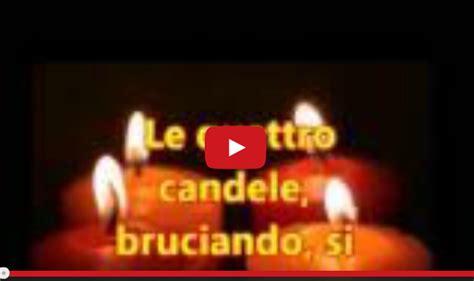 le 4 candele messaggio di speranza quot le 4 candele quot