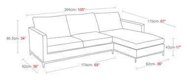 couch height buy istanbul sectional sofa 212concept