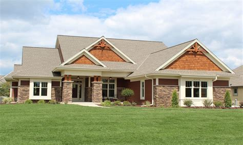 craftsman style ranch craftsman style ranch home elevations modern ranch style