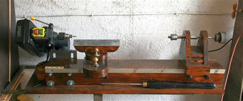 Homemade Wood Lathe Plans How To Build A Amazing Diy