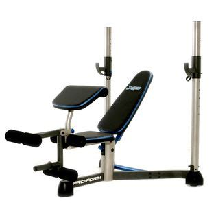 proform bench proform xp 160 weight bench fitness sports strength