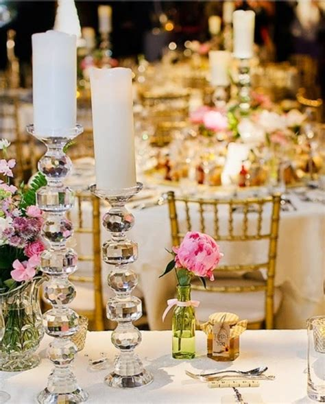 Wedding Accessories Ideas Wedding Candle Centerpieces
