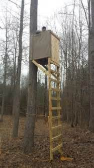 Deer Stand Stairs by Best 25 Deer Stand Plans Ideas On Pinterest Hunting