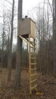 tree blind plans best 25 deer stand plans ideas on