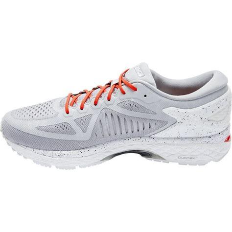 trail running shoes on concrete asics metarun mens running shoes concrete grey