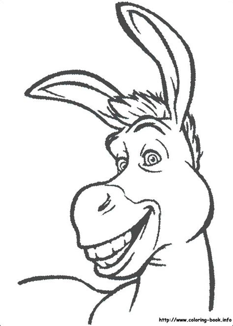 coloring pages book info shrek coloring picture