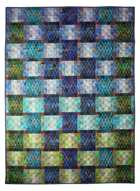 European Quilts by Quot Cool Quot By Lies Bos 2016 Open European Quilt Chionships