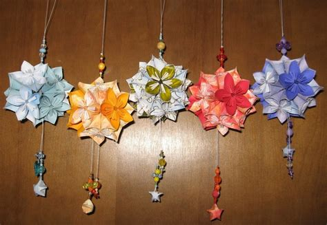 How To Make Origami Kusudama Flowers - kusudama flower balls 3 by assassinedangel on deviantart