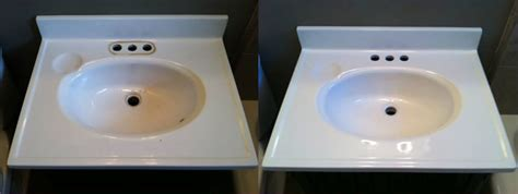 One Day Bathtub Refinishing by San Jose Sink Refinishing Before After Photos