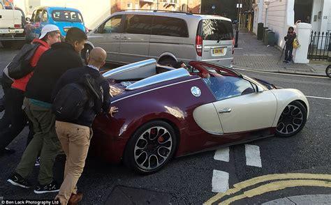 bugatti veyron speed limit bugatti veyron pushed through streets of after