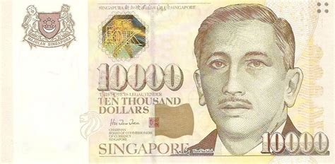 currency sgd exchange singapore dollar banknotes today cash4coins