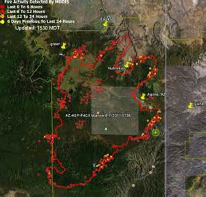 current arizona wildfires map update on arizona fires june 7 2011 wildfire today